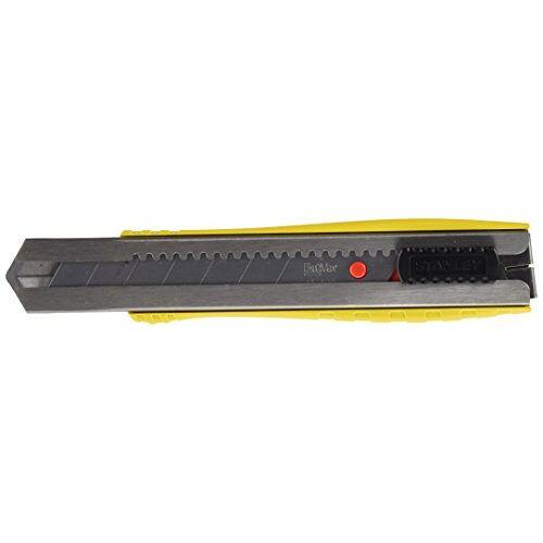 Stanley Cuttermes FatMax (25 mm lemmetlengte, aluminium behuizing, anti-slip handgreep, bevestigingsclip) 0-10-431