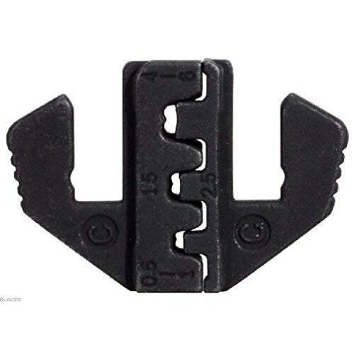 KS TOOLS Paar krimp-inzetstukken voor tang 115.1401 voor platte stekker 4,8 en 6,3 mm