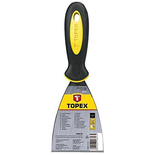 TOPEX 18B606 schilderspatel, roestvrij staal, greep van bi-materiaal, 63 mm, 63 mm