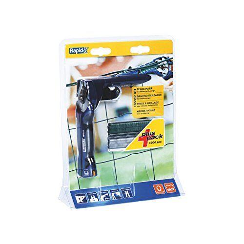 RAPID Hek Tang Kit met Magazine Inclusief 200 Hog Rings Quickload, FP222, 40303112
