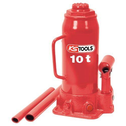 KS TOOLS 160.0354 hydraulische flessenwagenkrik, 10 t