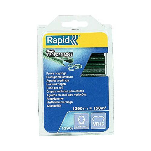RAPID Hoge prestaties gegalvaniseerde groene huisdier gecoate hek varkensringen, VR16, 2-8 mm, 40108800-1390 stuks