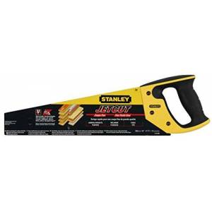 Black & Decker Stanley JetCut Handzaag, fijn (380 mm lengte, 11 tanden/inch, bi-materiaal, hardpoint-vertanding, 45/90 -aanslag) 380mm
