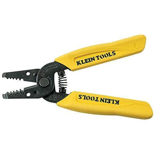 Klein Tools 11045 draadstripper/draadsnijder, geel, volledig draad met dikte 10-18