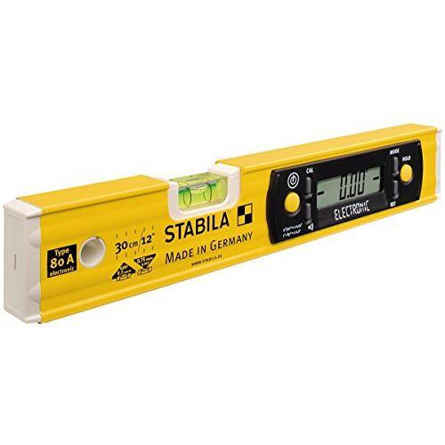 Stabila Elektronische waterpas TECH 80 A electronic, 30 cm, met digitaal display