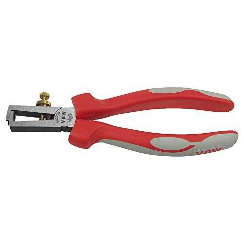 VBW 543205 Gepolijste draadstripper, Rood/Grijs, 160 mm