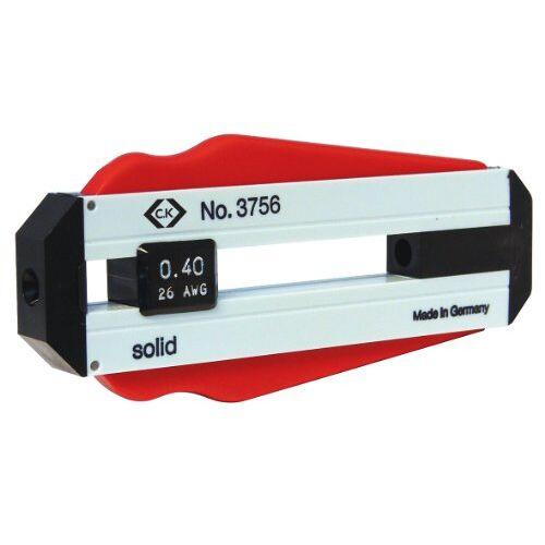 C.K draadstripper. 0,20 mm zwart, rood, wit