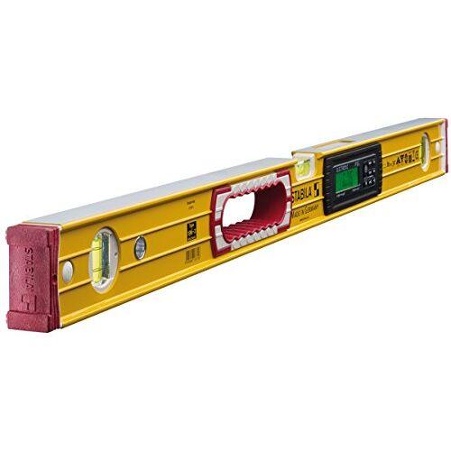 Stabila elektronische waterpas TECH 196 electronic IP 65, met 2 digitale displays en waterpastas, geel, 81 cm