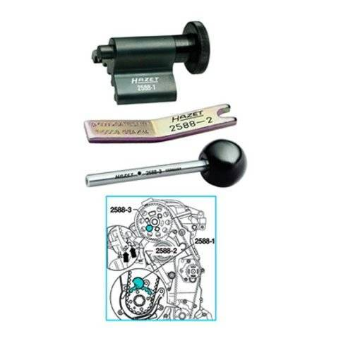 Hazet 2588/3 Timing Belt Locking Multi-Colour