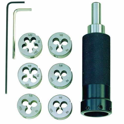 PROXXON 24 082 24082 snijijzerhouder met snijijzers, zwart, roestvrij staal