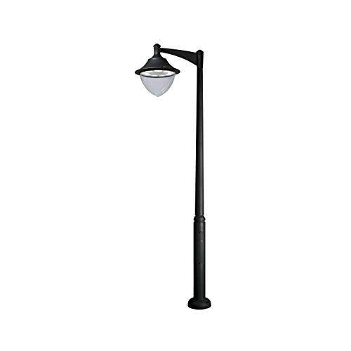 Cristher Gunter kop, 1 lamp, 70 W, zwart