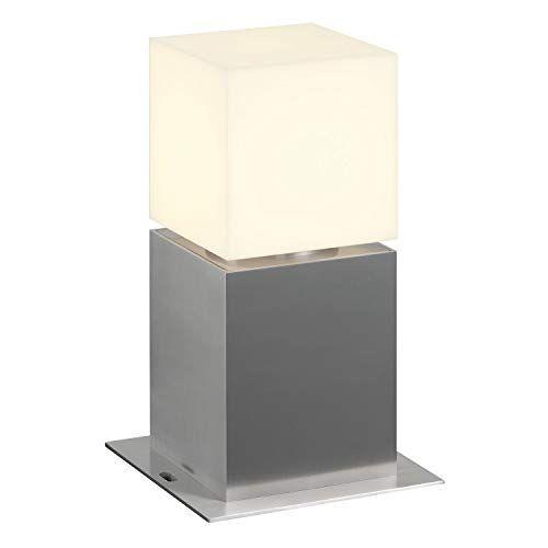 SLV SQUARE POLE 30 Led-bolderlamp voor buiten, stijlvolle buitenverlichting, dimbaar, buitenverlichting, tuinverlichting, E27, EEK A-A++, max. 20 W