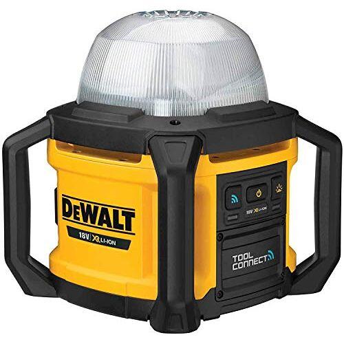 DeWalt DCL074-XJ accu-bouwspots, 18 V (basiszwart, geel.