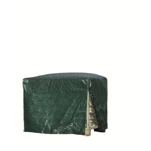 Rainexo Rain Exo RX120-GIB-G afdekhoes voor rasterbox, 125 x 85 x 98 cm, 120 g/m2 zonder ritssluiting, groen