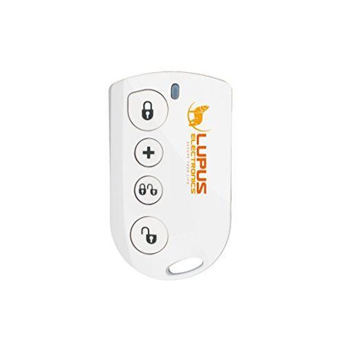 Lupus Electronics Lupusec Draadloze afstandsbediening voor de XT Smarthome alarmsystemen, compatibel met de XT1 en XT2 draadloze alarmsystemen, energieklasse A, 12008