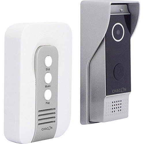Chacon 34888 IP Videofoon met Bedraad Chime Zwart