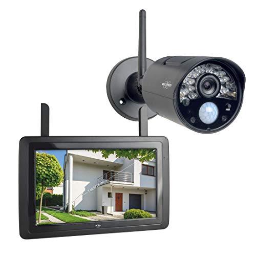 "ELRO CZ30RIPS Draadloze HD Beveiligingscamera Set 7"" Monitor en App"