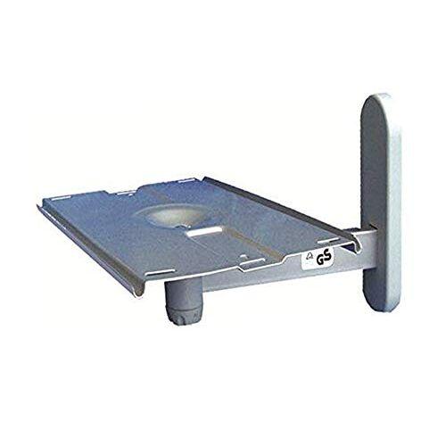 kippen 10002C draaibare arm voor tv en kleine huishoudelijke apparaten, 0 V, zilver