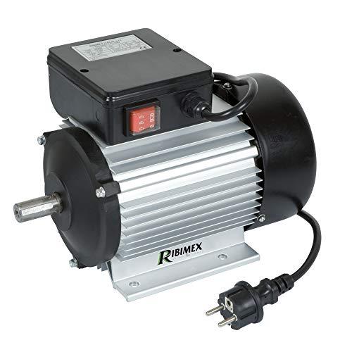 RIBITECH Motoren elettrico 2 cv monofase 2750tr/min + interruttore