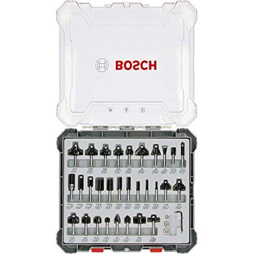 Bosch 30e frezenset (voor hout, accessoire bovenfrezen met schacht van 8 mm)