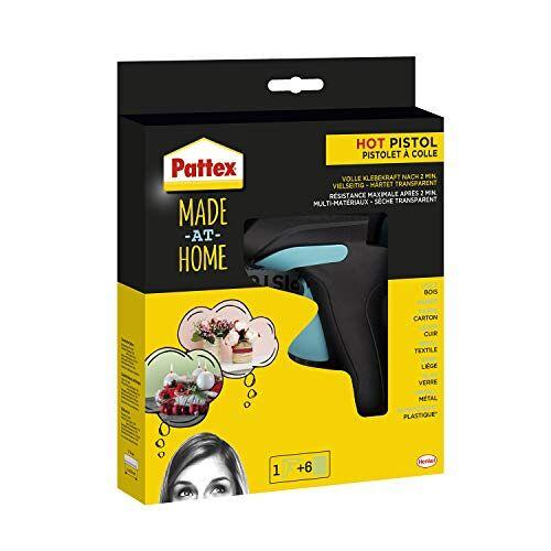 Pattex Made At Home Lijmpistool, 1 Stuk, 11 mm Diameter, Zwart