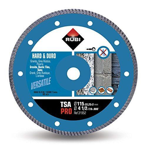 RUBI -turbo diamantdoorslijpschijf voor harde materialen, 31952
