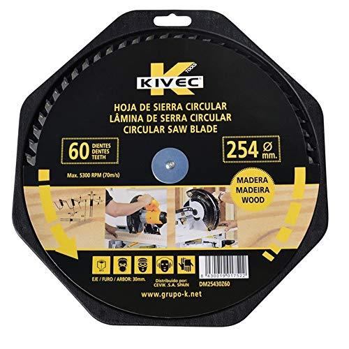 Kivec dm25030z60 – alternatieve Widia-tand voor hout en spaanplaat 250 x 3,2 x 30 Z = 60