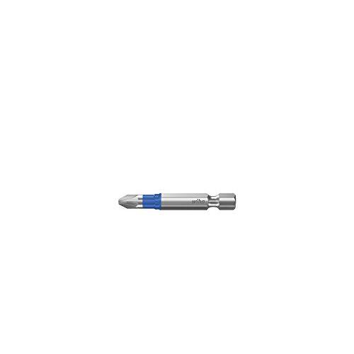 Wiha Bits, T-bit PZ1, 50 mm, 5 stuks in een doos, voor het schroeven van schroeven in T-vorm.