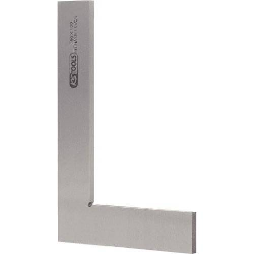 KS Tools 300.0204 Platte hoek volgens DIN 875/1, 300 mm