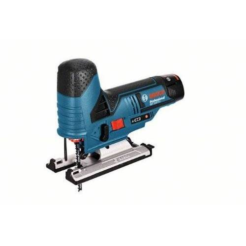 Bosch 06015A1000 10,8 V accu-decoupeerzaag Bosch GST 10,8 V-Li+, 10,8 V, zwart, blauw