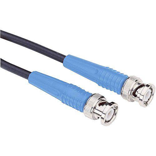 TESTEC Kabel van maatregel BNC [stekker BNC – stekker BNC] 10.00 m blauw  81063