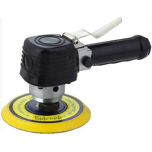 Mecafer 150150 PO150 excenterschuurmachine 150 + klittenbandsluiting + schijf
