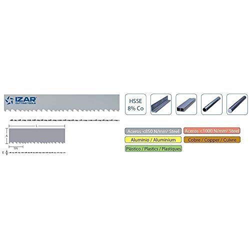 IZAR 60107-scie in Duitsland voor Metal HSSE8% flex 05800 x 041 x 1,30/03 – 04 K