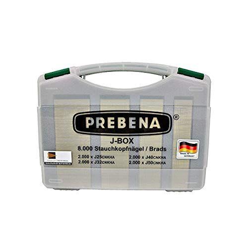 PREBENA Brads-Sortimentkoffer J-Box