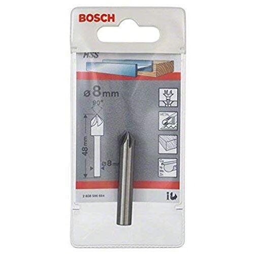 Bosch Pro verzinkboor met 1/4 inch zeskantschacht Ronde schacht. 8 mm