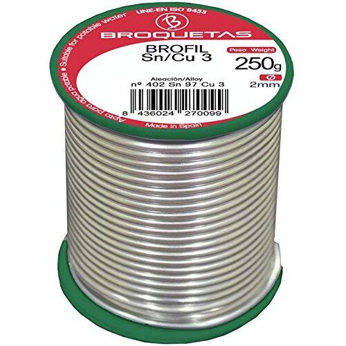 Brofil tinnen koper 3 Sn CU 250 g spoel