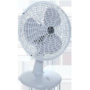Vortice 60610  tafellamp, geluidsarm en krachtig, 90  draaibaar, Ø 30 cm, Gordon 30, lichtgrijs, 230 V