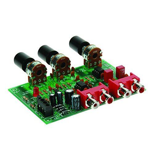 Velleman K8084-voorversterker, volume- en geluidsregelaar