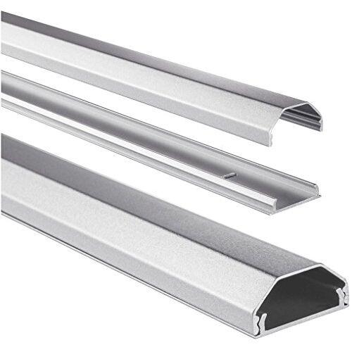 Hama 00083168 aluminium kanaal kabel zilver