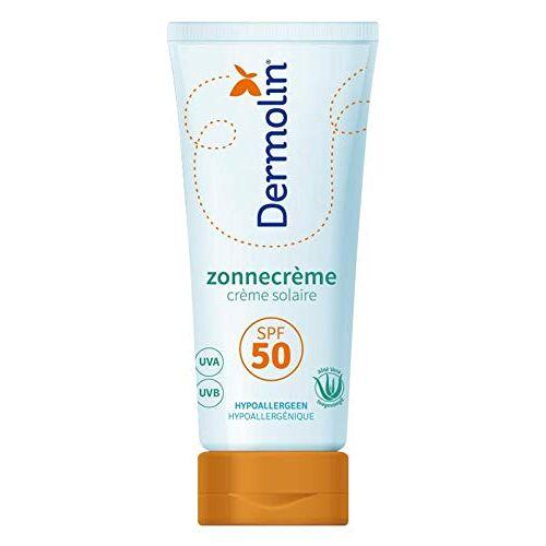 Dermolin Zonnebrandcreme Spf50, 75 Ml