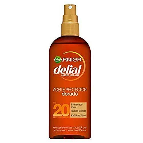 Delial Garnier Oil Zonnebrandcrème SPF 20-150 ml