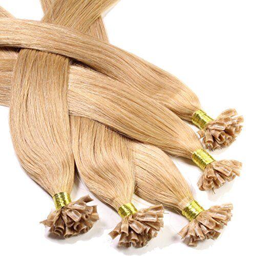 Just Beautiful Hair and Cosmetics , 25 Remy-uitbreidingen van echt Remy, 1 g, 60 cm met keratine-bindingen