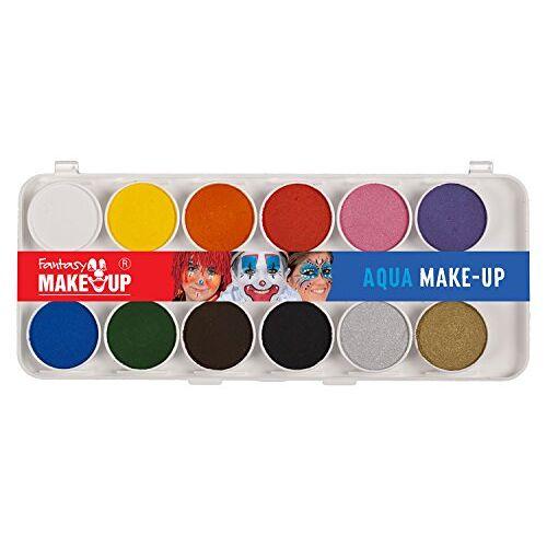 C. Kreul Kreul 37071 Fantasy Aqua Make Up Schilderset, 12 kleuren, make-up