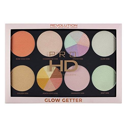 MakeUp Revolution Highlighterpalet Pro HD palet Glow Getter