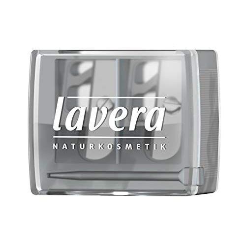 lavera Duo Sharpener Potloodslijper (DUO) ∙ Geschikt voor standaard en jumbo oogpotloden en lippotloden ∙ Cosmetische slijper  Natuurlijke cosmetica  Make-up  (1 stuk)