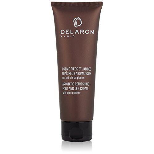 DELAROM Aromatic verfrissende voetcrème met plantenextracten, 125 ml