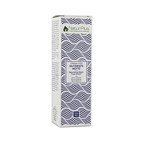 NaturPlus gezichtscrème, voedingsstoffen, bio-veganistisch, 50 ml