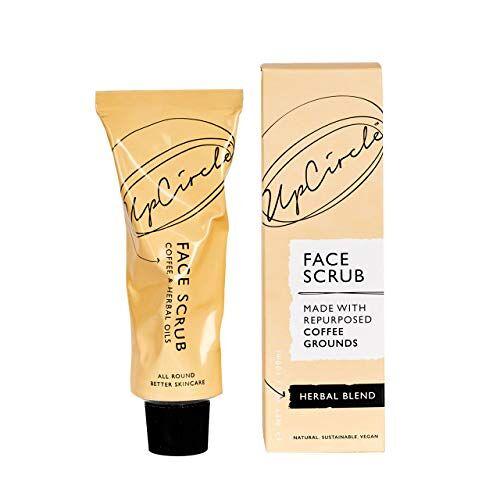 UPCIRCLE Coffee Face Scrub Kruidenmix voor de vette of gecombineerde huid
