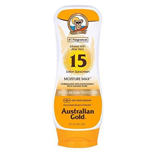 Australian Gold Australische 237 ml Gold Sun Cream SPF 15 Medium bescherming