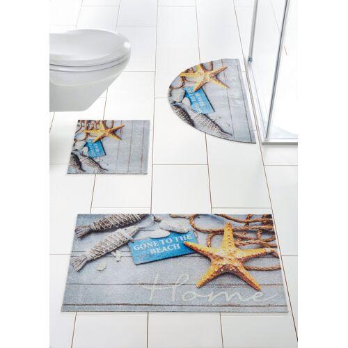 bonprix Badmat  - Size: 4 (badmat 90/110 cm),1 (wc-mat voor hangend toile